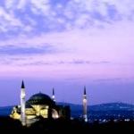 Hagia Sofia Dawn by Judy Buckley-Sharp