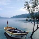 Boat at Egirdir by Mark Buckley-Sharp